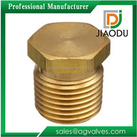 Bronze Brass npt Thread Hexagonal Close Nipple