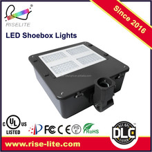 DLC UL Approval 150W LED Shoe Box Light With TM21 Report 50000 Hours Lifespan