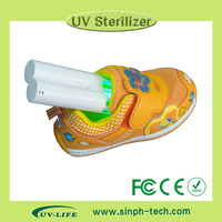 ultraviolet shoe deodorizer with Uv-led sterilize to kill bacteria inside shoes