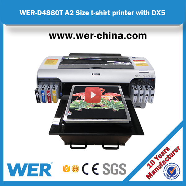 top selling China factory price 4880 refit A2 dtg printer for t-shirt