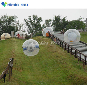 outdoor exciting games 3m tpu body zorb ball