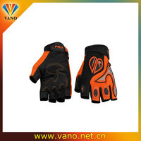 Hard and lightweight carbon fiber half finger scooter gloves motorcycle