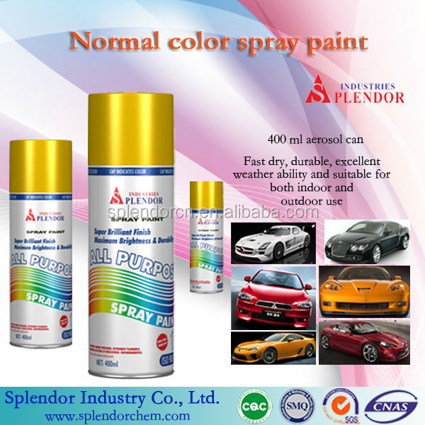 High quality china Spray Paint for floor tile designs/ graffiti spray paint/ car paint all colors
