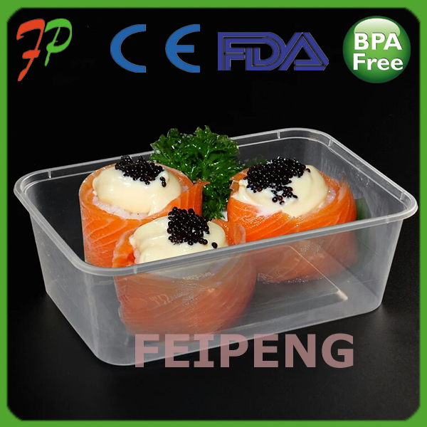 High Temperature Resistant Plastic Food Container