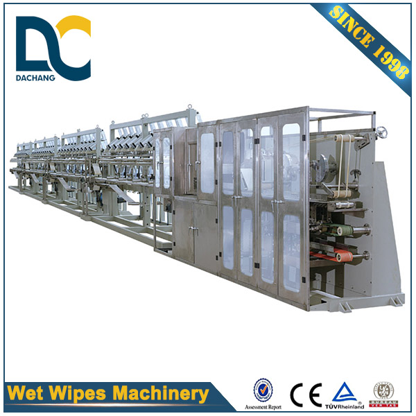 Full automatic wet tissue paper making machine with CE certification