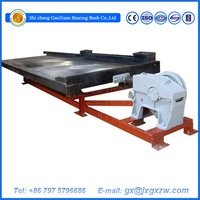 Mining machinery shaking table,vibration machine Table concentrators for gems stones