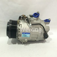 Car AC compressor Calsonic Kansei CSE717 clutch 8PK for BMW X6 2005 64529205096