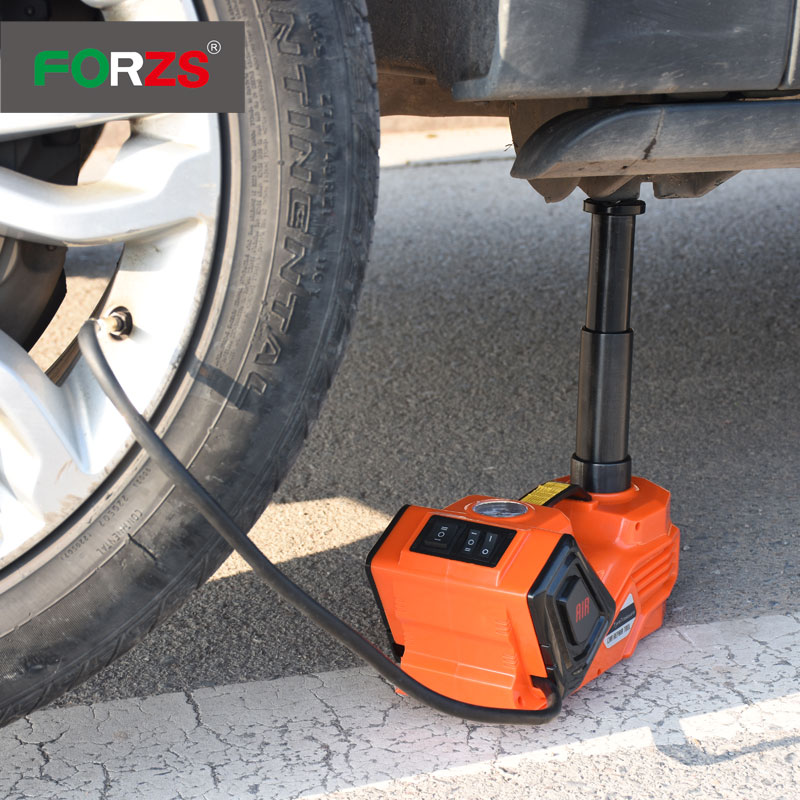 FORZS ZST01 new design hydraulic portable car Jack for 3.5T car 12 volt electric jacks