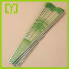 transparent colored sleeve for flower/plastic flower sleeve