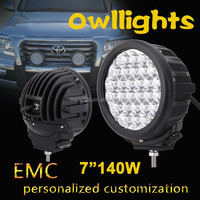 "9"" 96W CREE led Driving light Headlight offroad round led work light CE, RoHS, IP68"