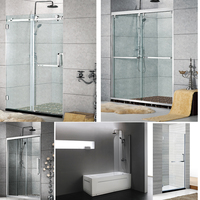 Bathroom Frame/ Frameless Shower Door, Shower Screen