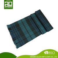 Latest Fashion Designer Manufacture Type Of Women Multi Plaid Scarf Cotton Scarves
