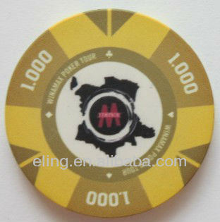 10g Qualified Ceramic Poker Chips