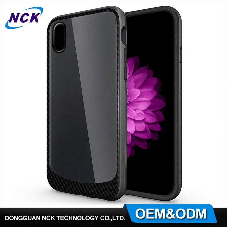 Free sample for iphone x full cover shockproof hybrid TPU PC combo cell phone case custom for iphone 7 8