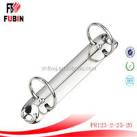 metal 2 hole ring binder mechanism with fashion style