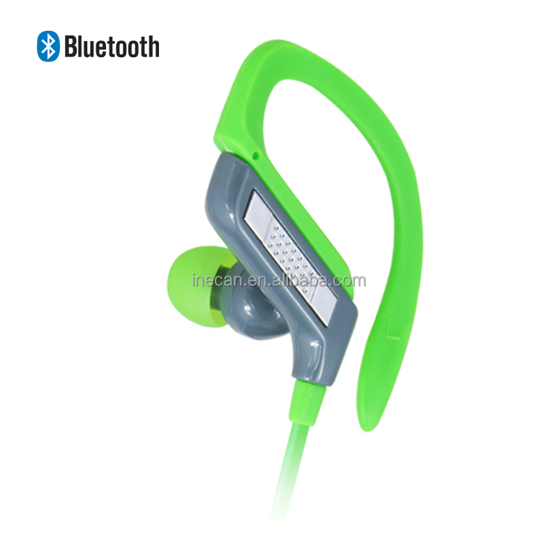 Premium Wireless Bluetooth Headphones Secure Earhooks Bluetooth Headset