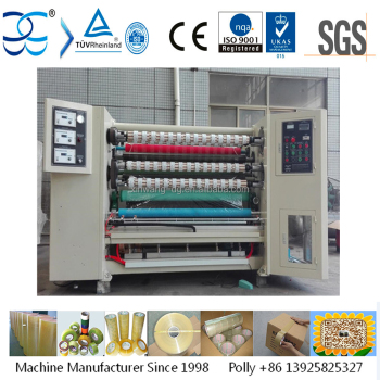 BOPP Adhesive Tape Slitting and Rewinding Machine