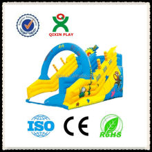 ship style inflatable screamer water slide for kids selling from factory