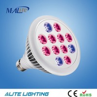 Most popuplar 12w Outdoor Hydroponic LED Grow Light Plant Grow Lights E27 Growing Lamp