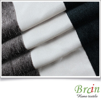 100% polyester blackout chenille curtain fabric