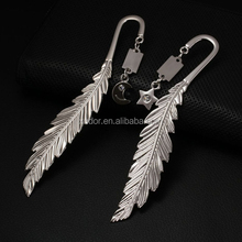 PROMOTIONAL GIFT CRYSTAL DIAMOND MATCHING FEATHER BOOKMARK