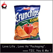 delicous paprika chips bags with factory price and high quality