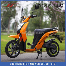 2018 European standard lead acid battery electric scooter with EEC 350W, baby e-scootor with pedals
