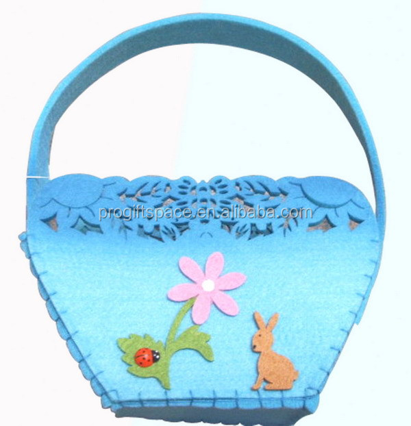 alibaba express hot new products for china supplier wholesale felt handbag 100% polyster cosmetic bag made in china
