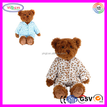 A029 Soft Animal Teddy Bear Pajamas Suit Stuffed Toy Plush Giant Teddy Bear