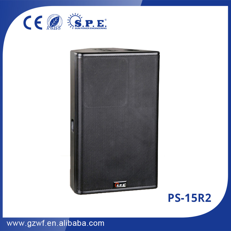 High quality professional nexo speaker 15'' two-way passive cheap loudspeakers