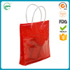 New design with Professional Transparent PVC Beach Bags With Plastic Tube Handle with high quality