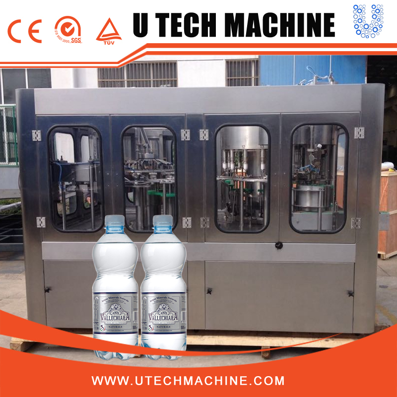 Complete drinking water filling plant/ automatic bottle water production line/ pure water bottling machine
