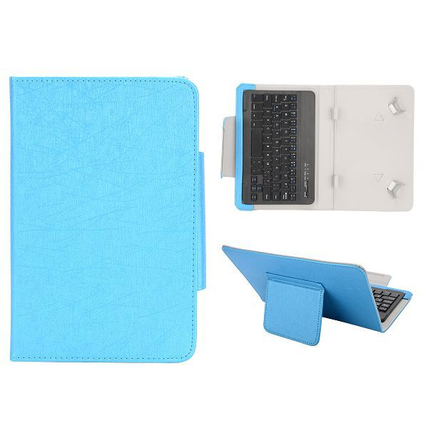 7 inch Tablet PC Bluetooth Keyboard Leather Case