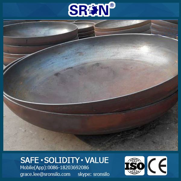 Carbon/Stainless Steel Dished/Elliptical Heads with Advanced Tank Head Manufacture Technology