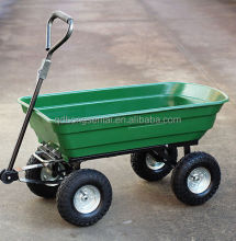 yard works garden wagon cart hand pull wagons