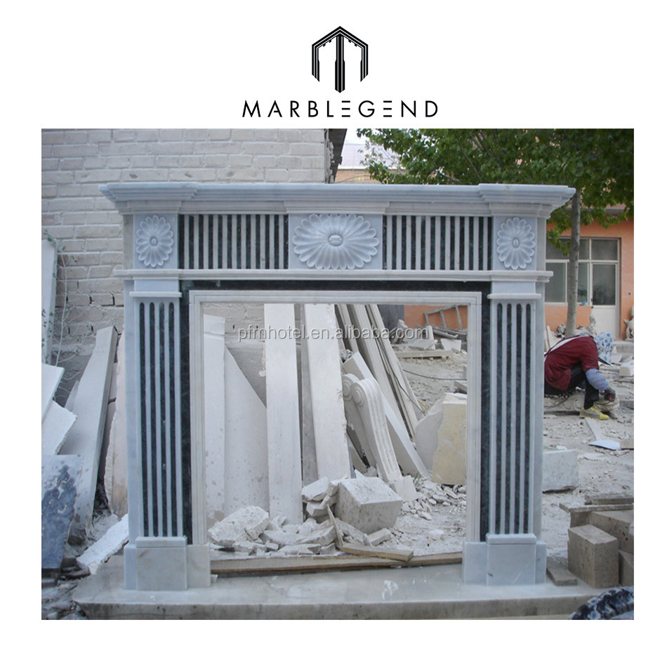 customized natural stone cheap gas fireplaces
