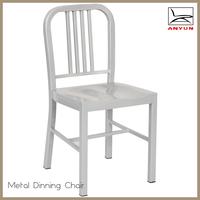 Popular aluminum steel metal replica emeco navy chair