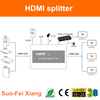 4K/6Hz 1 input 4 output audio video splitter with 4 ports HDMI output