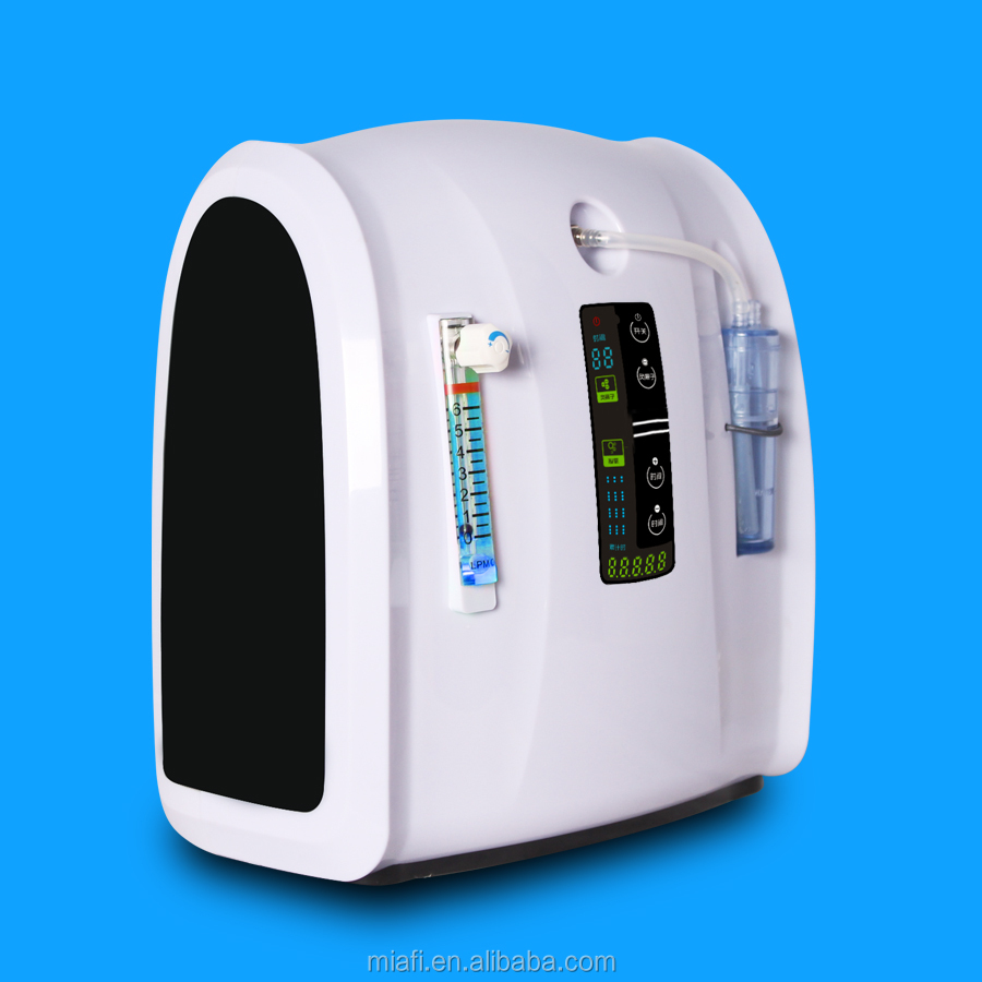 5L mini psa portable Special event price zeolite molecular sieve oxygen concentrator nebulizer with Touch button