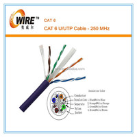 4pr 23awg Network Cable Cat6 UTP CCA 0.56 cable