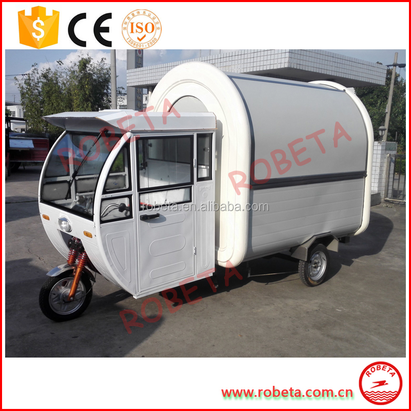 Hot-selling tricycle food cart/mobile food cart/food cart