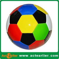 official size hand sewing soccer ball for match