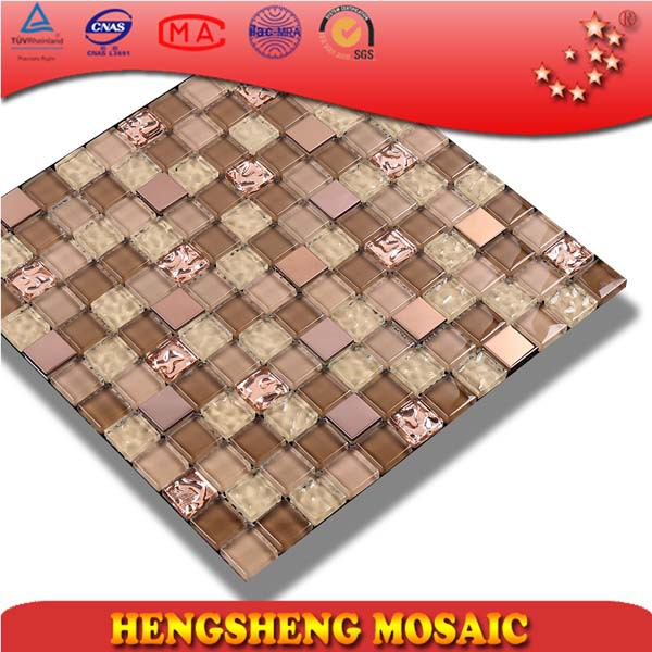 KS243 luxury decoration marble sticker tile design liviing room wall mosaic stone
