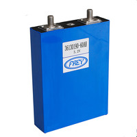 Factory supply lifepo4 3.2v 60Ah lithium battery for 12v 24v solar system home