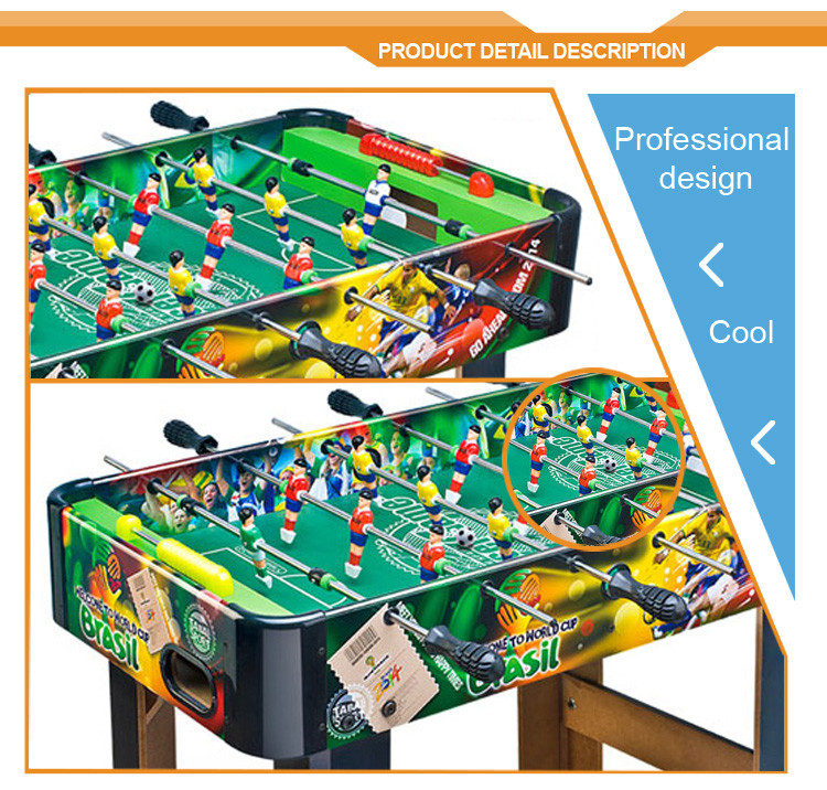 2018 Sport Toys Football table board game huang guan wood football soccer table