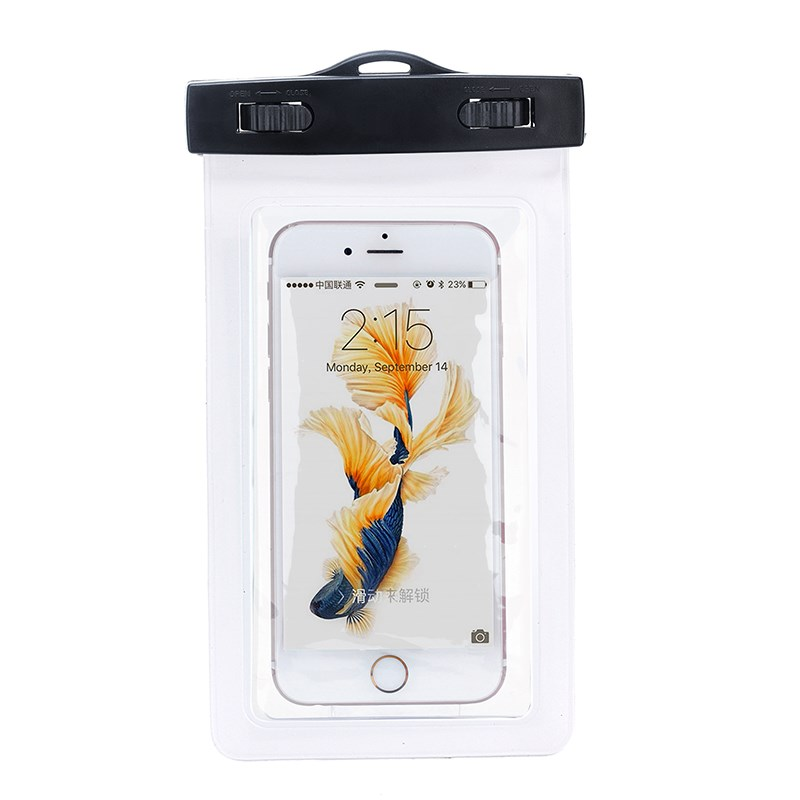 high quality waterproof PVC Mobile Phone Bag IPX8 certified