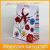 Hot sale small Gift bags with ribbon tie