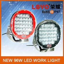 9inch 96W Led Spot Flood Led Work Llight, Offroad Led Driving Spot Work Light 4WD Offroad Camping Replace Light