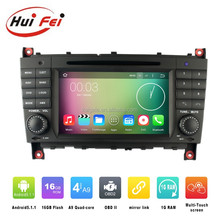 For Mercedes-benz C Class W203 accessories android headunit car radio dvd audio gps navigation system