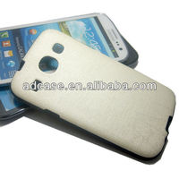 Personalized soft TPU PU handphone casing cover for samsung galaxy s3 i9300
